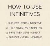 Невизначена форма дієслова в англійській мові. Визначення і правила вживання